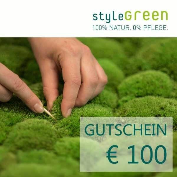 100 Euro voucher for the styleGREEN online shop