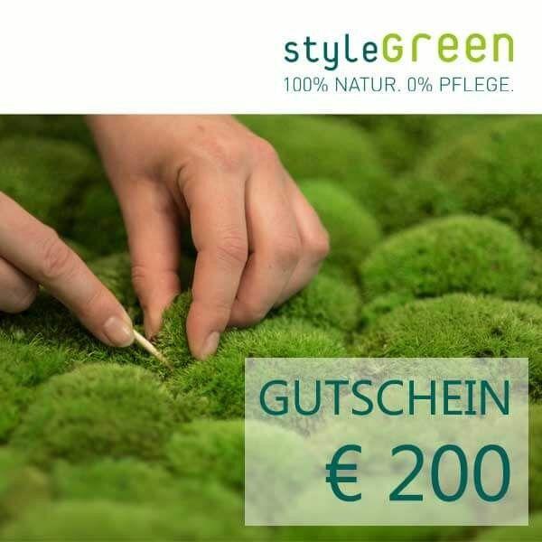 200 pound voucher for the styleGREEN online shop