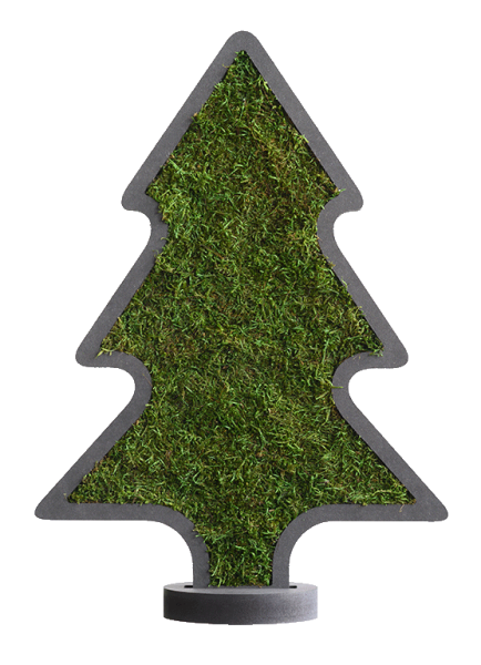Piktogramm: Weihnachtsbaum Noel mit Ständer