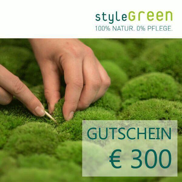 300 Euro voucher for the styleGREEN online shop